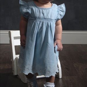 Toddler's Gap Chambray Dress